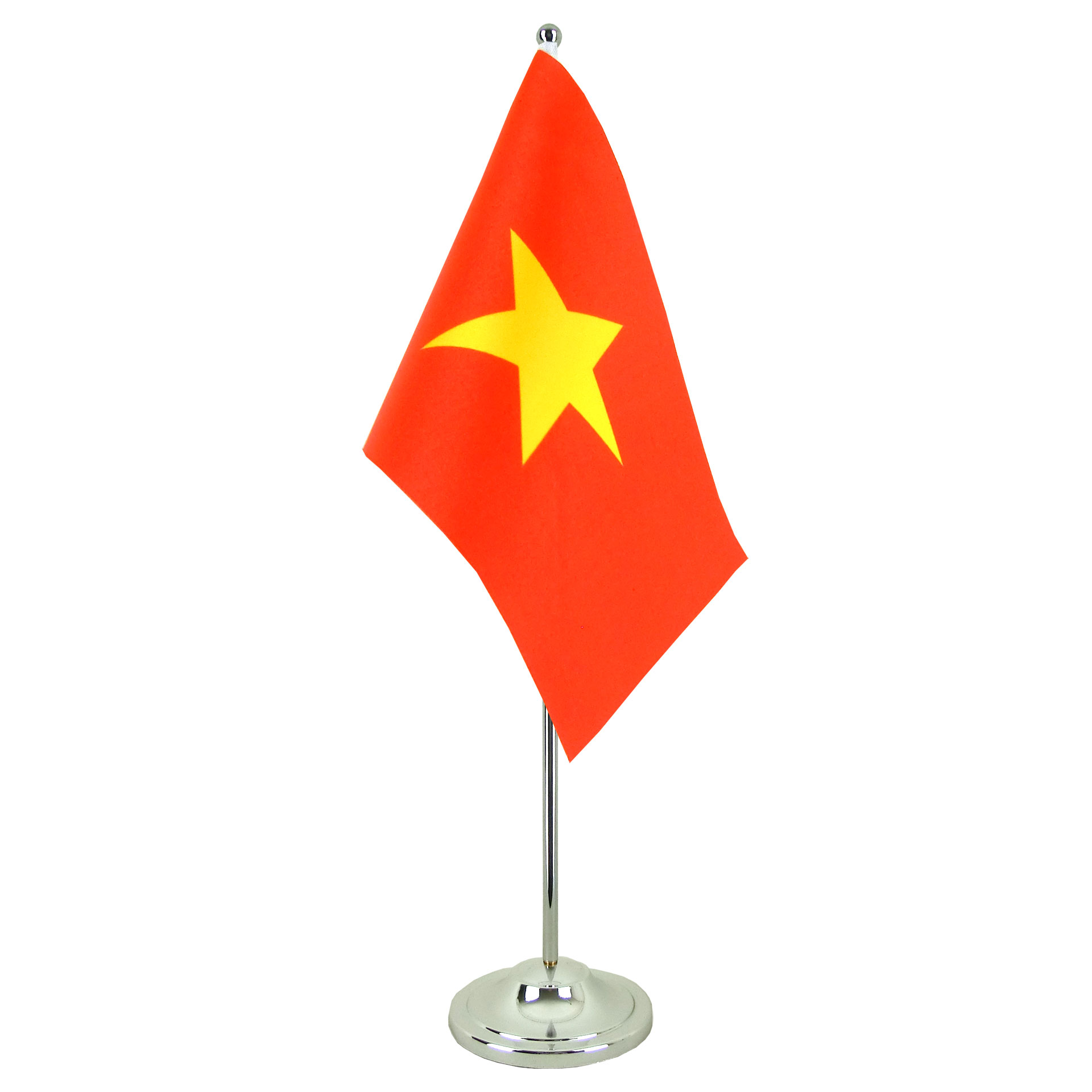 Satin Table Flag Vietnam 6x9 Quot Royal Flags