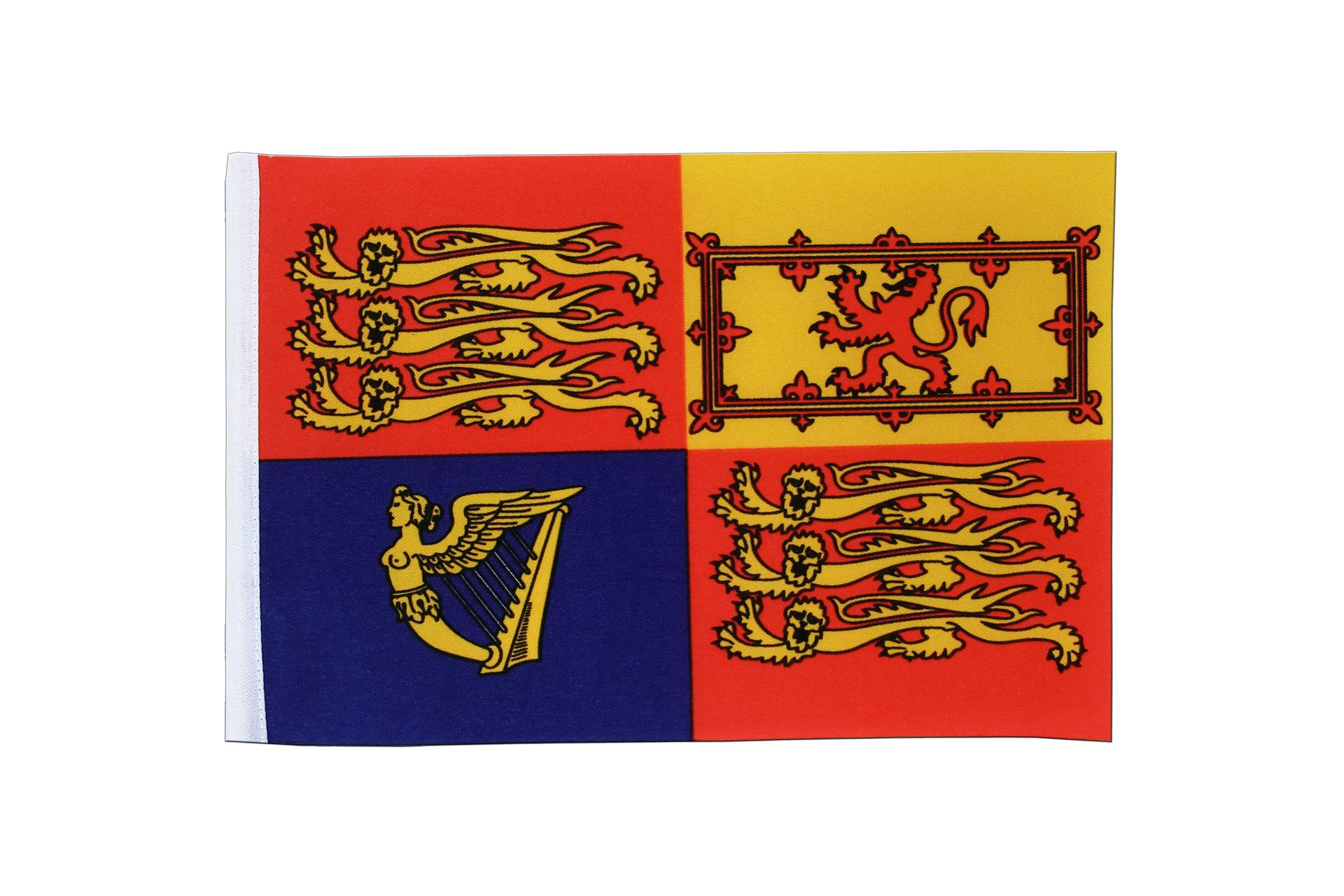 """Satin Great Britain Royal Flag - 6x9"""" - Royal-Flags"""