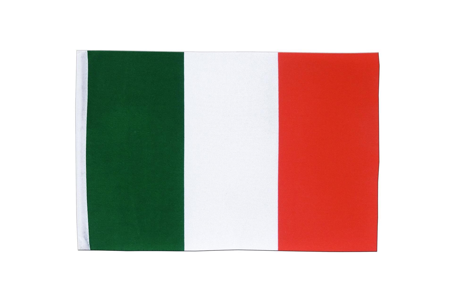 Italian Flag: Satin Flag Italy