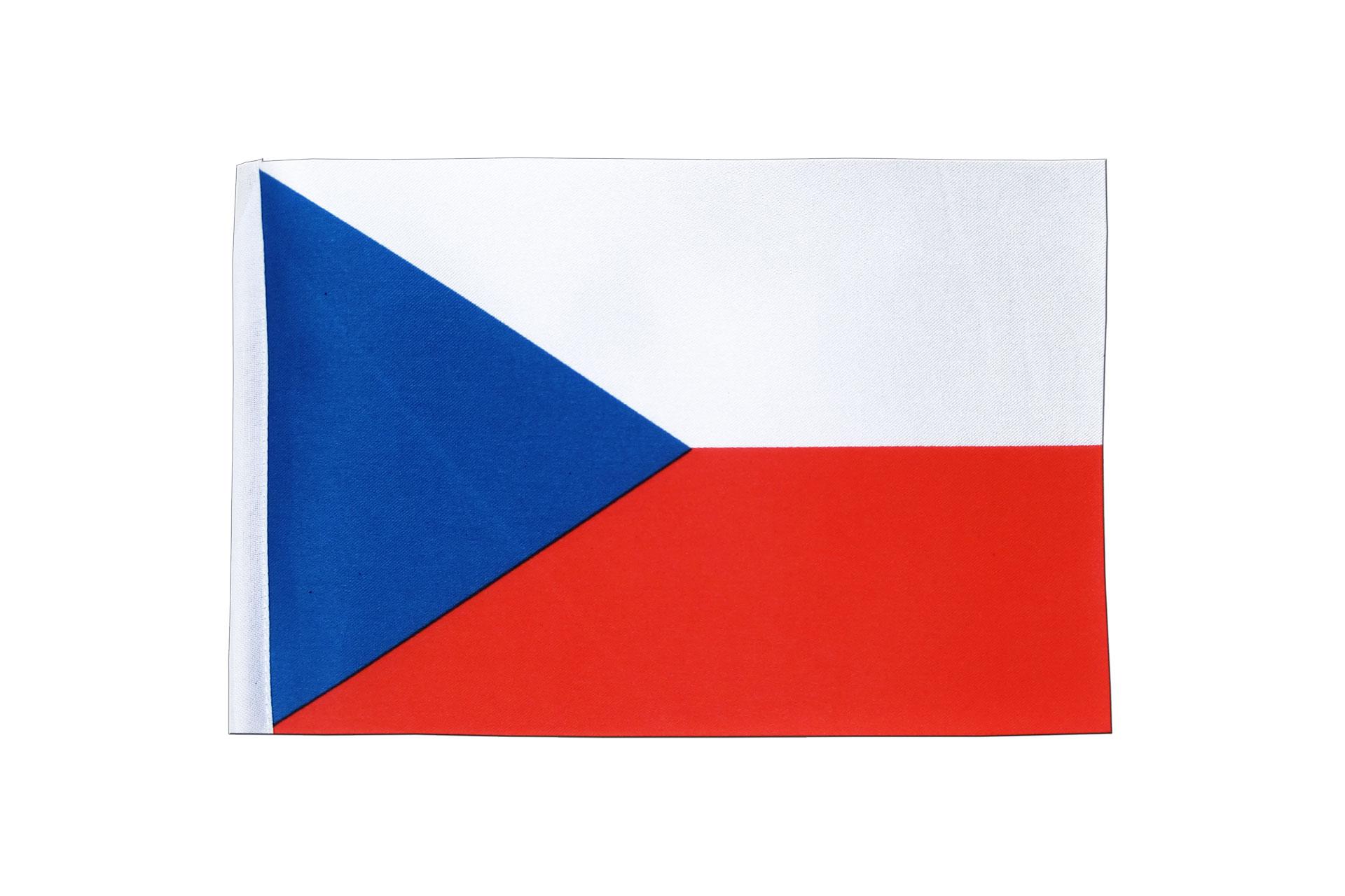 Satin Flag Czech Republic
