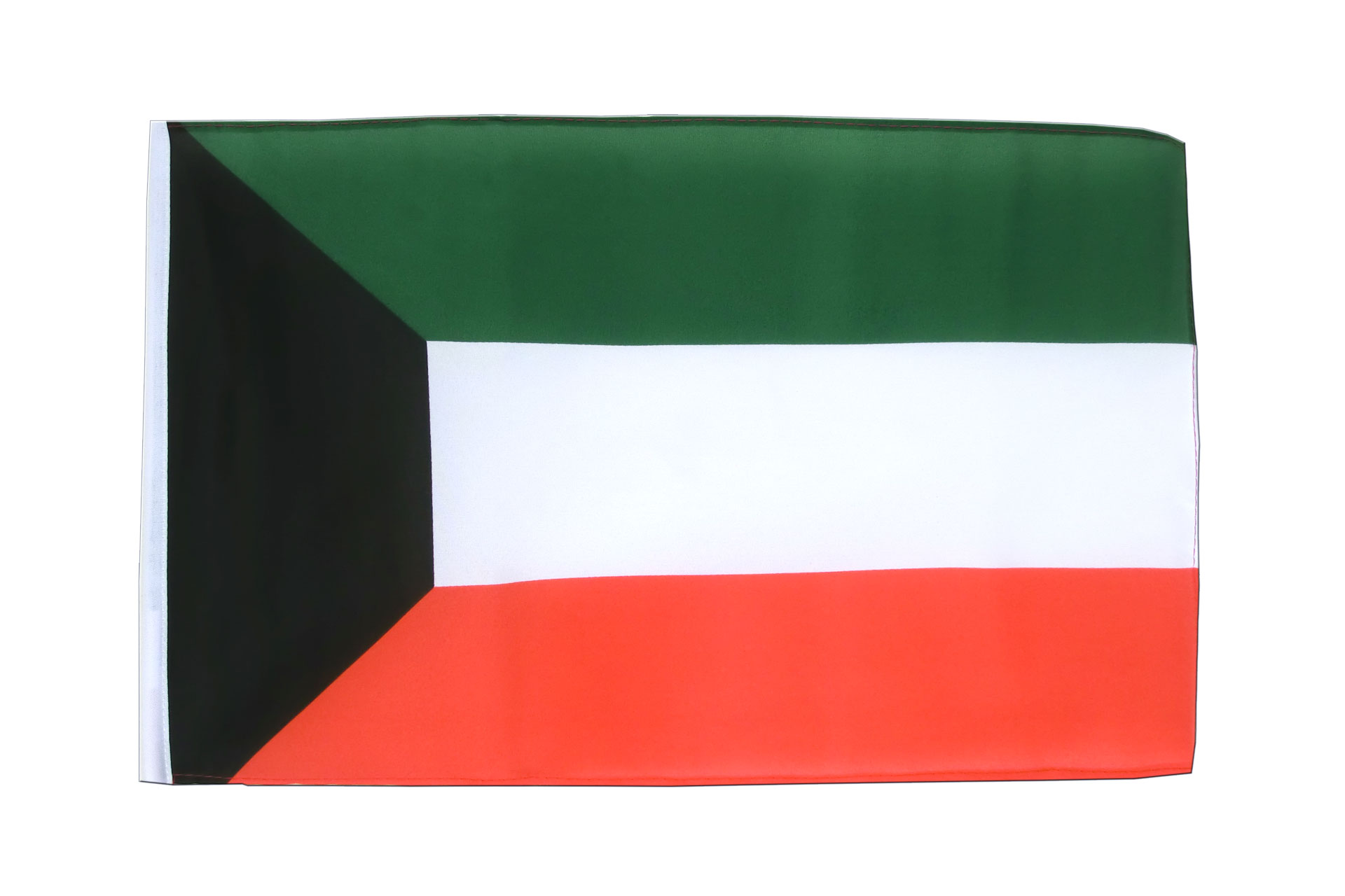 kleine kuwait flagge 30 x 45 cm. Black Bedroom Furniture Sets. Home Design Ideas
