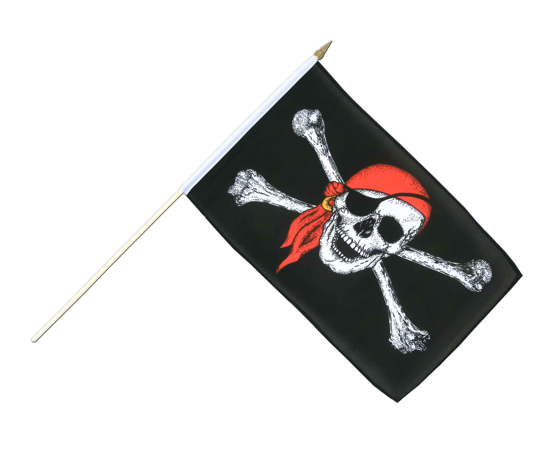 how to make a pirate bandana out of fabric