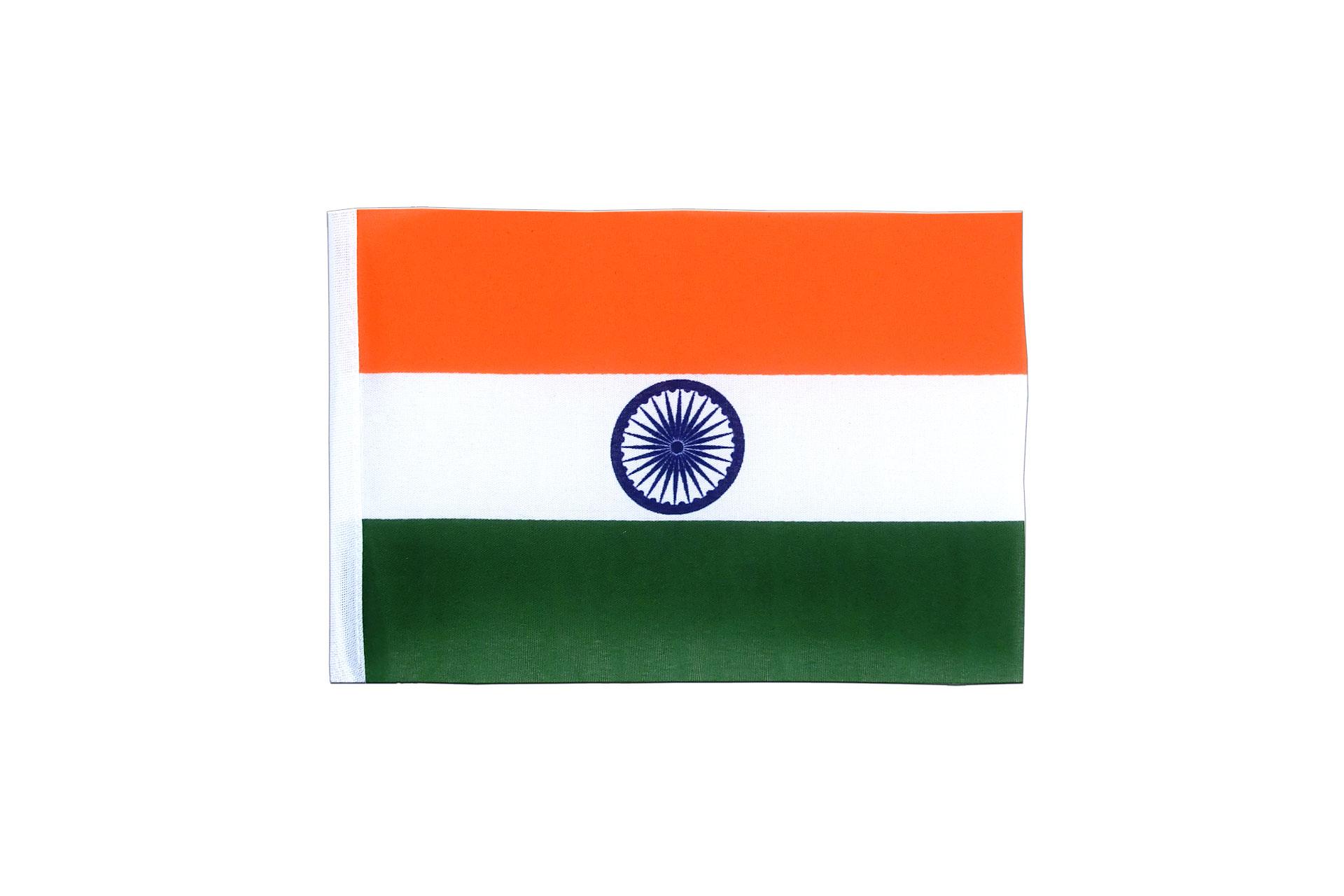"""Mini Flag India - 4x6"""""""