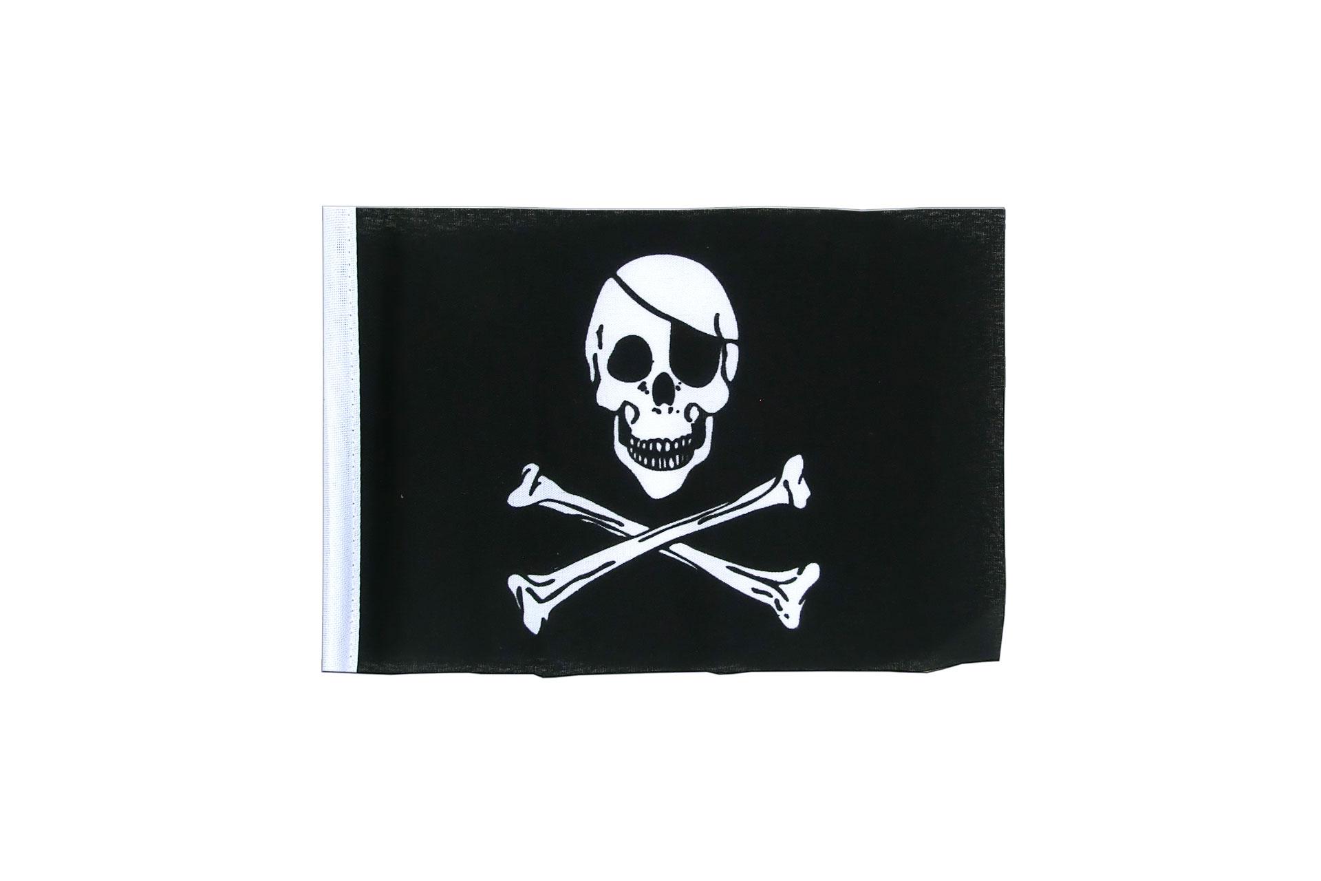 Fanion pirate 10 x 15 cm boutique de monsieur des drapeaux - Monsieur pirate ...