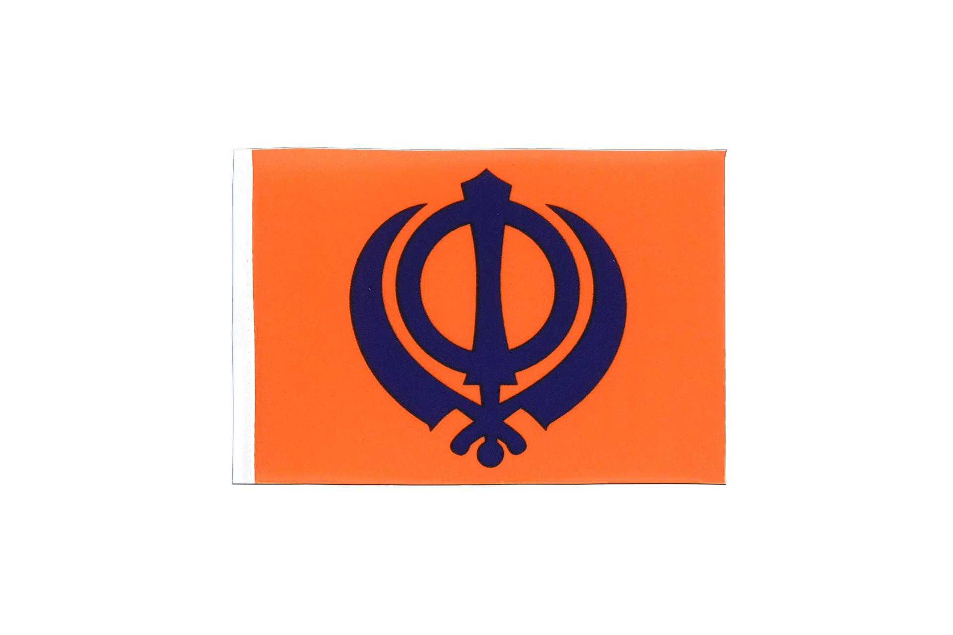 Mini flag sikhism 4x6 royal flags mini flag sikhism 4x6 biocorpaavc