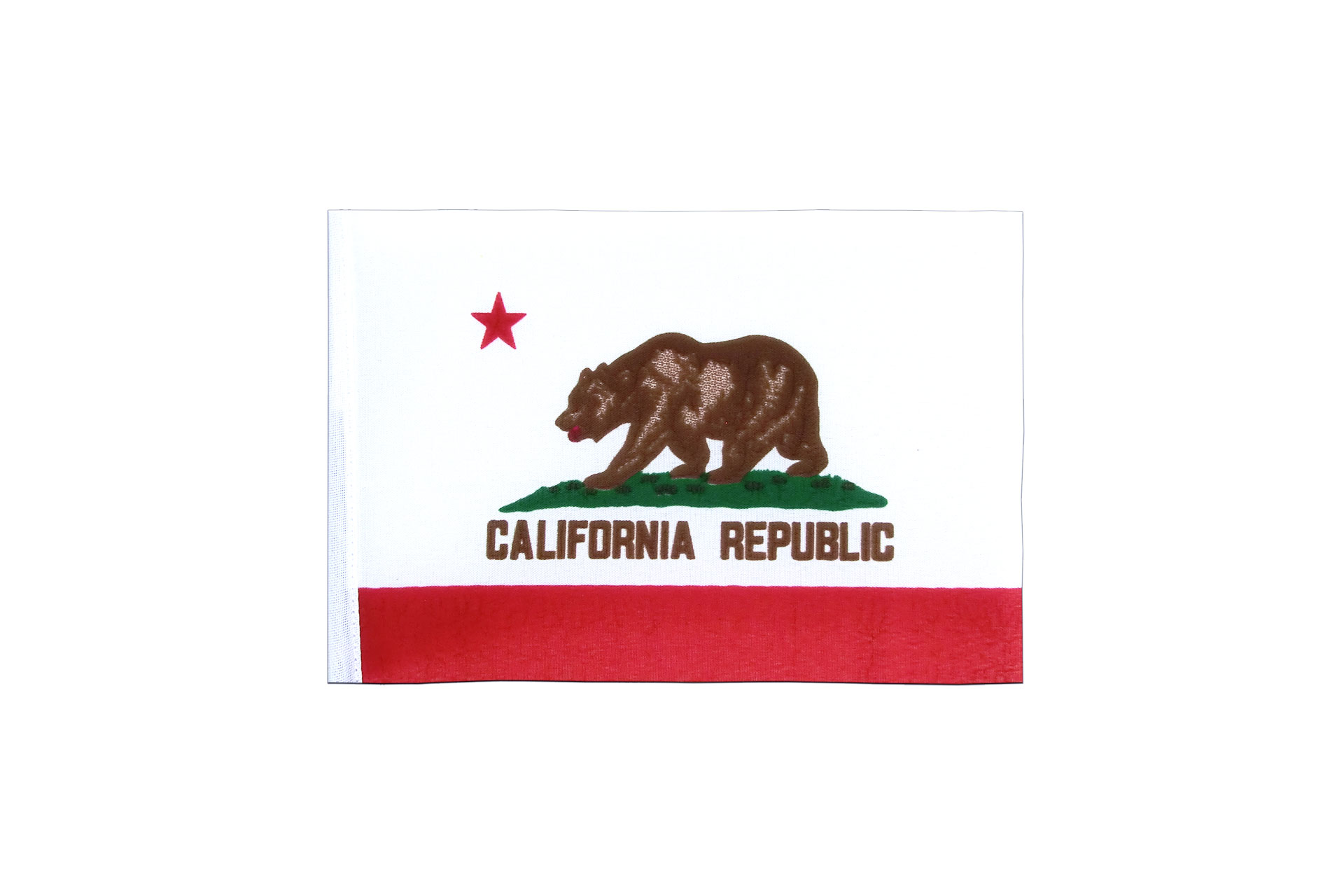 40c04a343aa93 California - Mini Flag 4x6