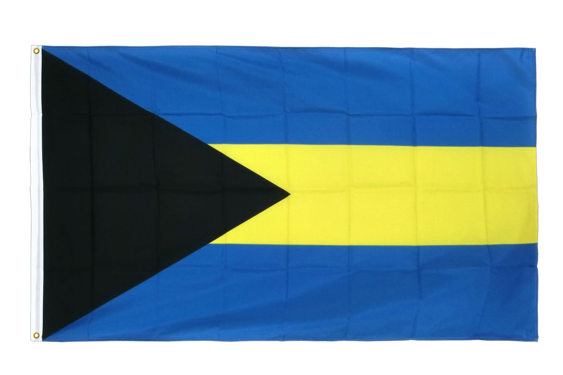 drapeau de qualit u00e9   bahamas - 90 x 150 cm cv