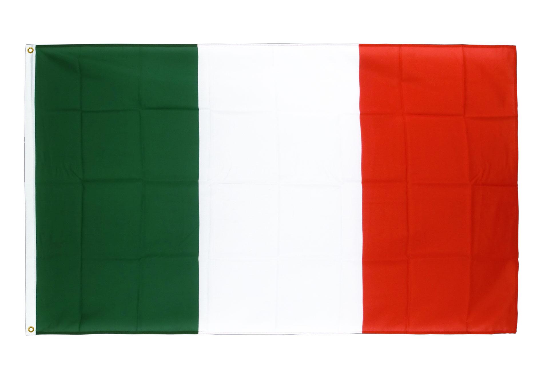 drapeau de qualit u00e9   italie - 90 x 150 cm cv