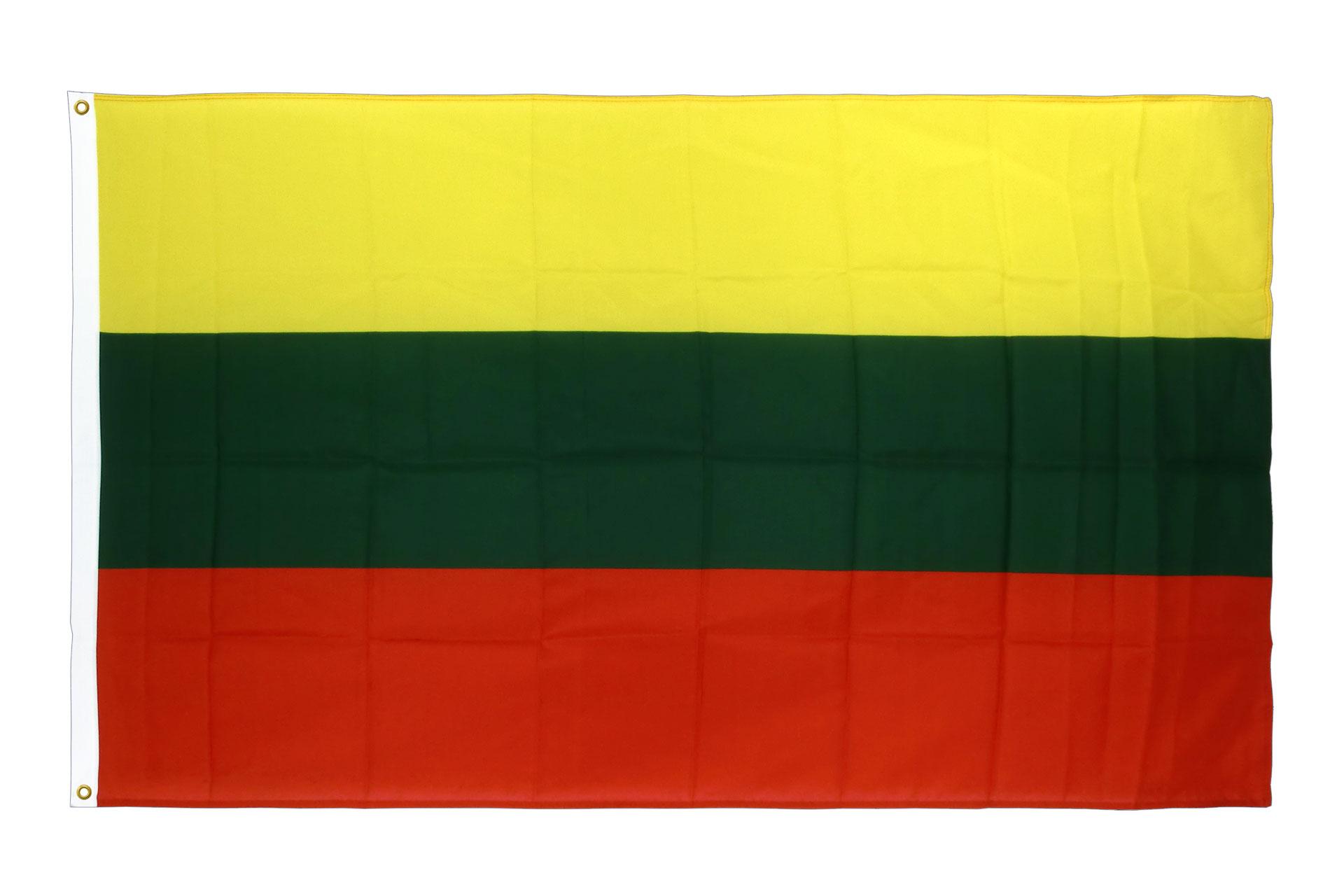 drapeau de qualit u00e9   lituanie - 90 x 150 cm cv