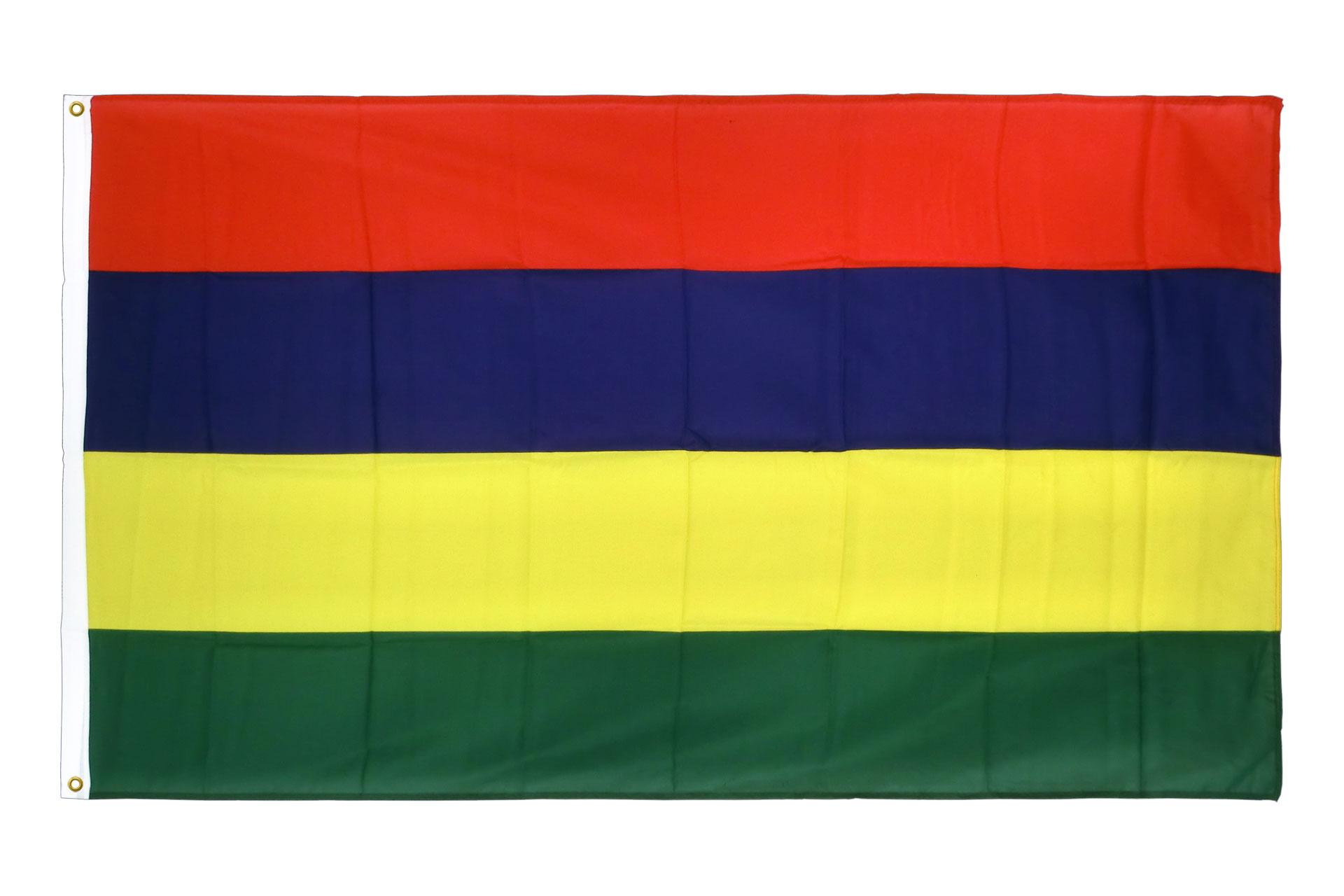 drapeau de qualit u00e9    u00celes maurice - 90 x 150 cm cv