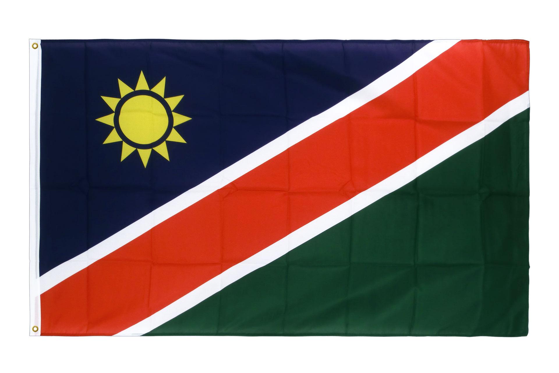 drapeau de qualit u00e9   namibie - 90 x 150 cm cv