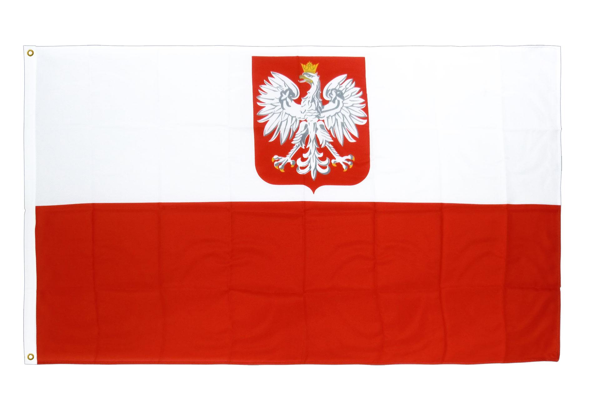 drapeau de qualit u00e9   pologne avec aigle