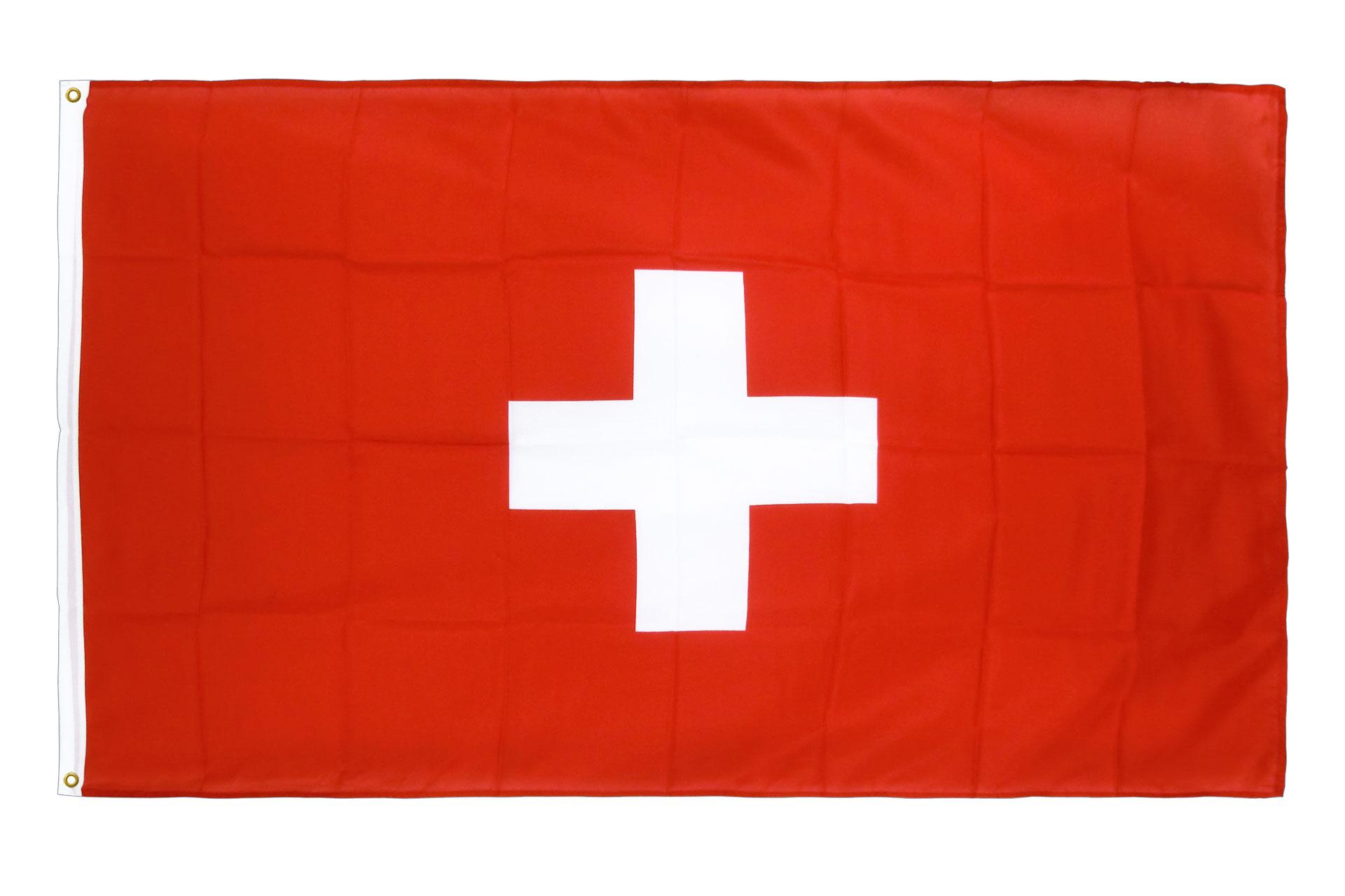 drapeau de qualit u00e9   suisse - 90 x 150 cm cv