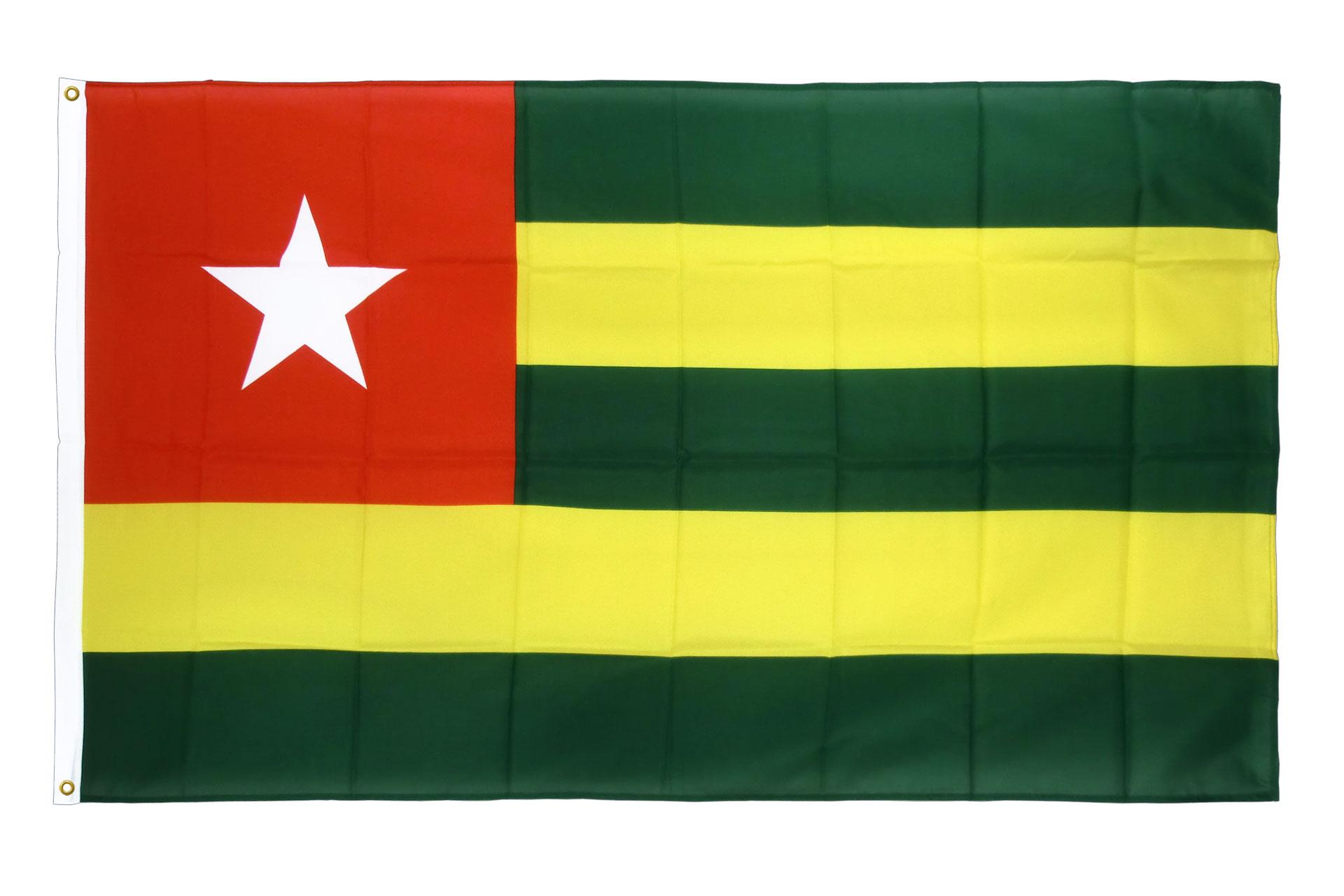 drapeau de qualit u00e9   togo - 90 x 150 cm cv