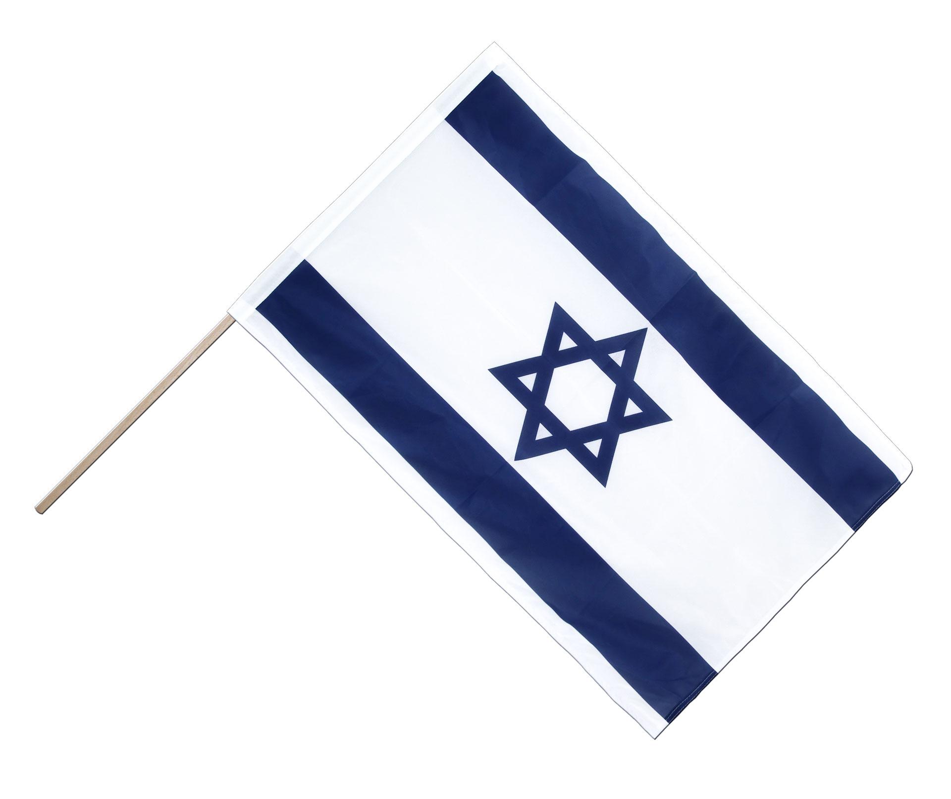israel stockfahne stockflagge pro 60 x 90 cm flaggenplatz shop. Black Bedroom Furniture Sets. Home Design Ideas