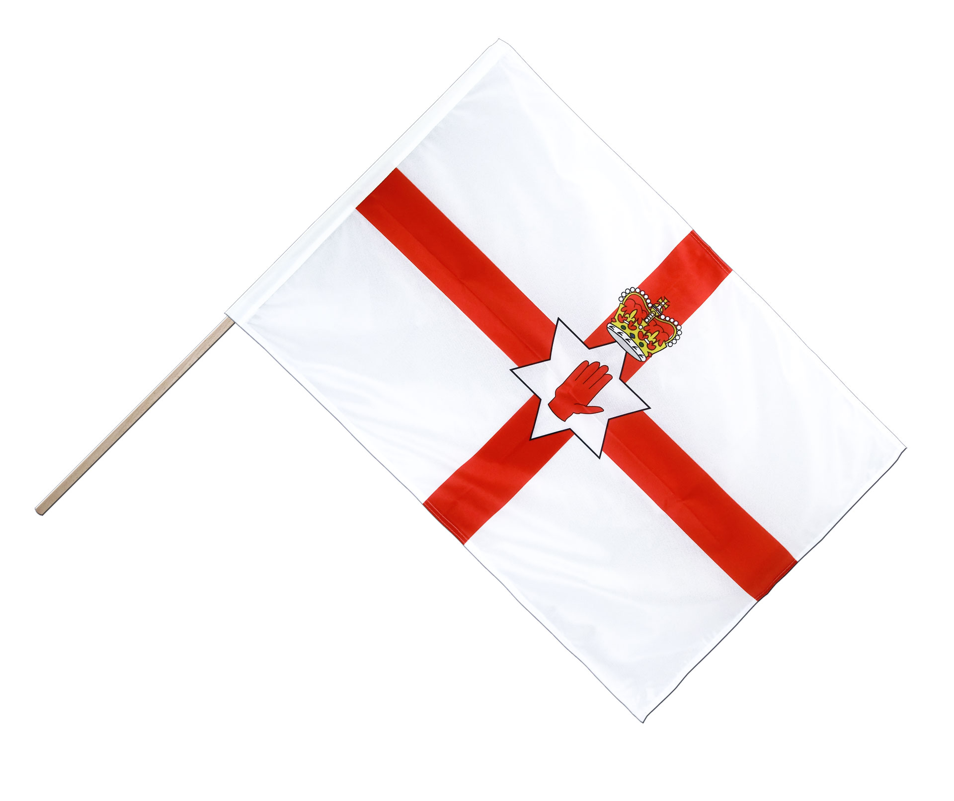 northern ireland hand waving flag pro 2x3 ft royal flags