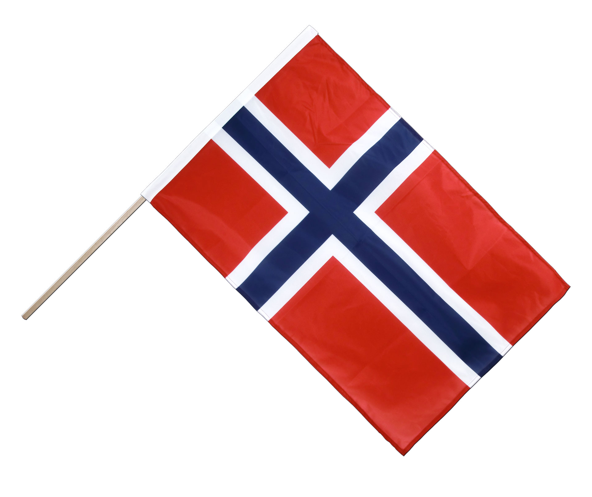 norwegen stockflagge pro 60 x 90 cm. Black Bedroom Furniture Sets. Home Design Ideas
