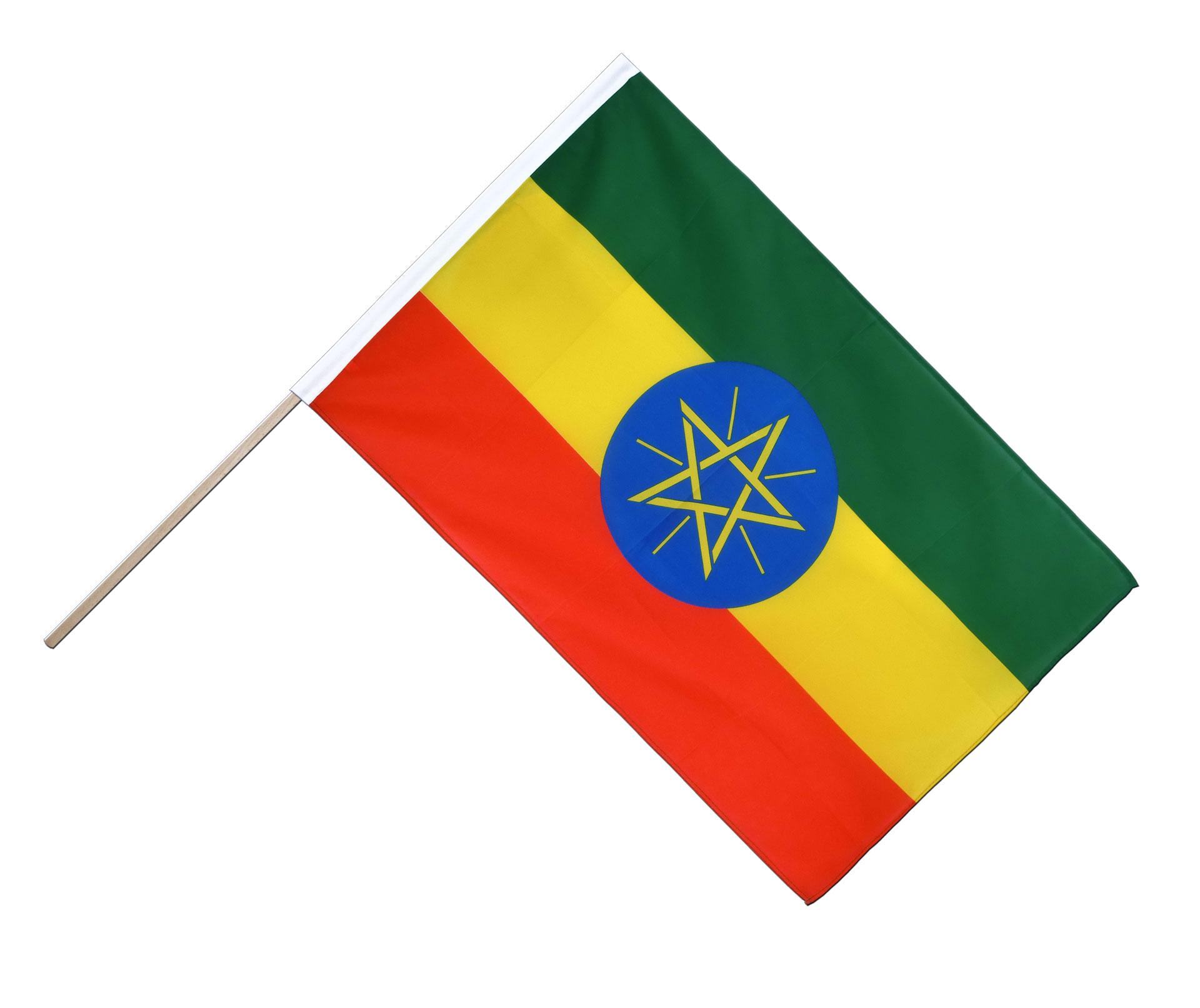 Äthiopien Hissflagge äthiopische Fahnen Flaggen 60x90cm