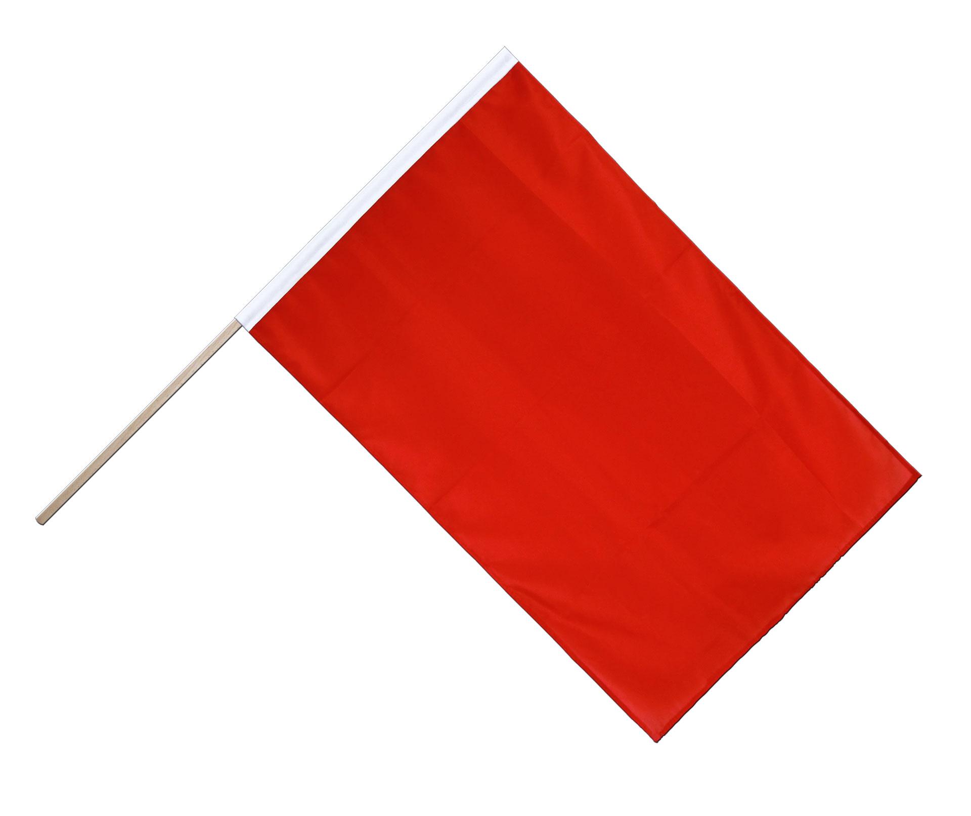 rote stockflagge eco 60 x 90 cm flaggenplatz. Black Bedroom Furniture Sets. Home Design Ideas