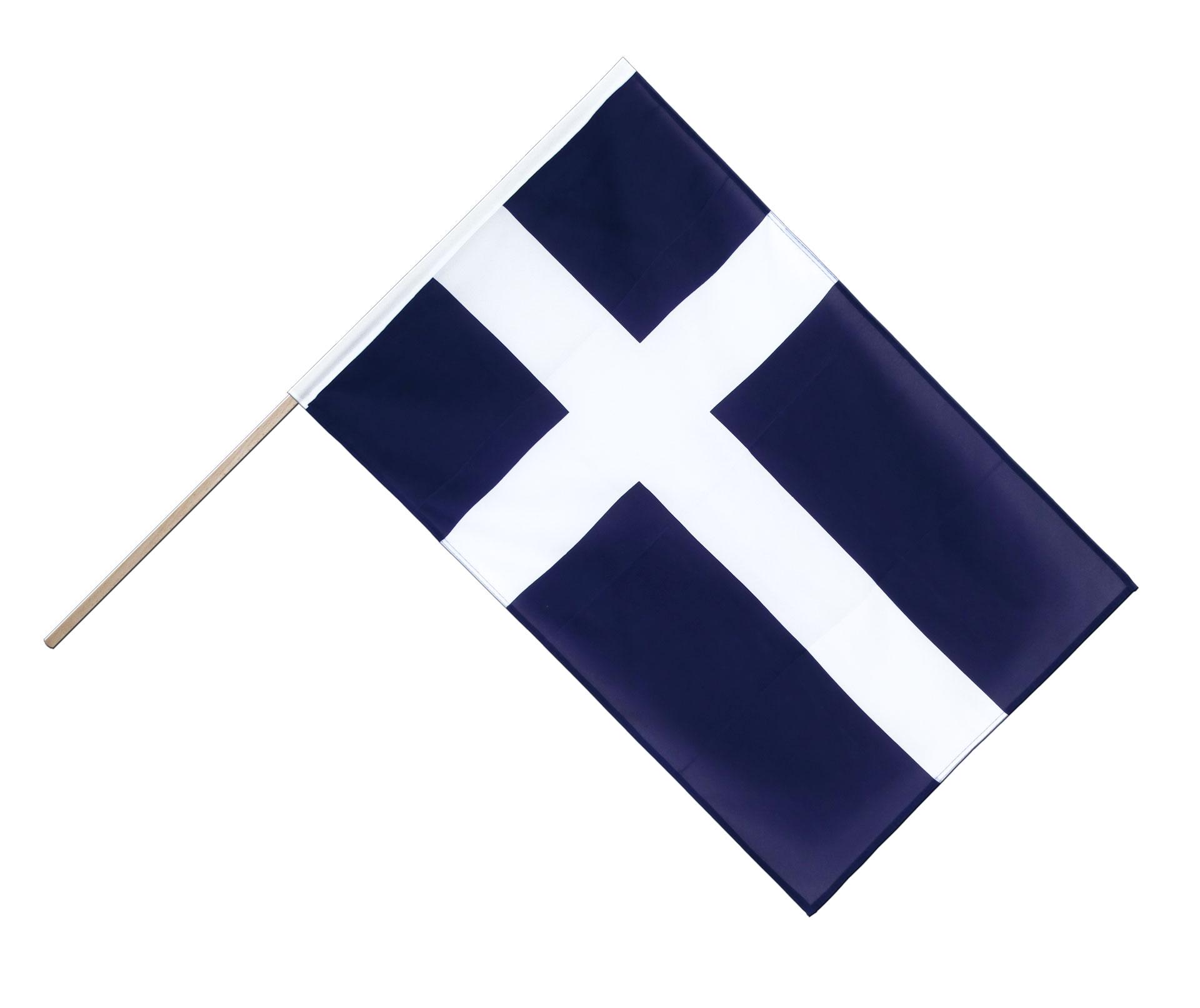 shetlandinseln stockflagge eco 60 x 90 cm flaggenplatz. Black Bedroom Furniture Sets. Home Design Ideas