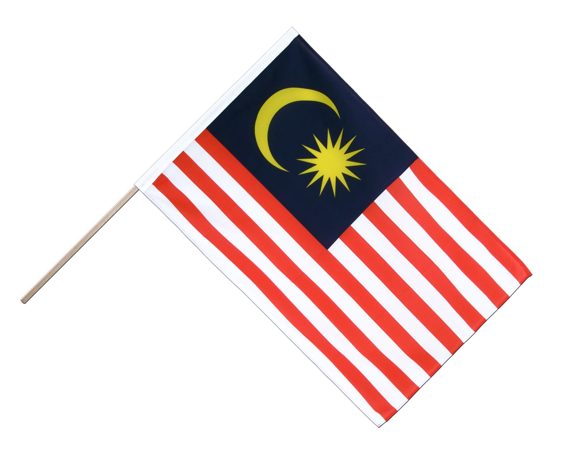 malaysia stockflagge eco 60 x 90 cm flaggenplatz. Black Bedroom Furniture Sets. Home Design Ideas