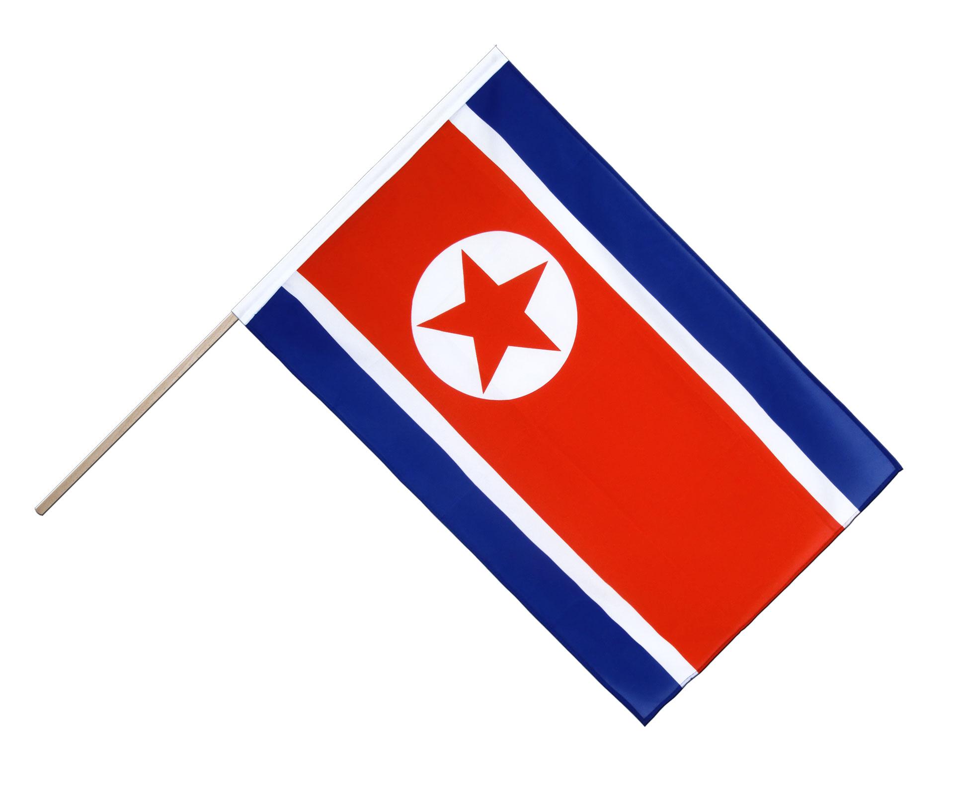nordkorea stockflagge eco 60 x 90 cm. Black Bedroom Furniture Sets. Home Design Ideas