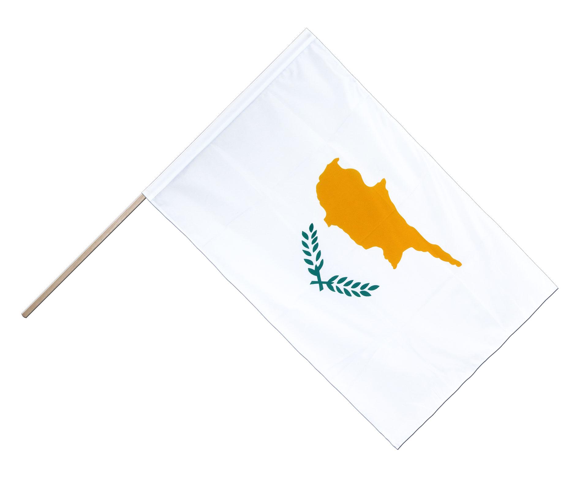 Zypern Hissflagge zyprische Fahnen Flaggen 60x90cm