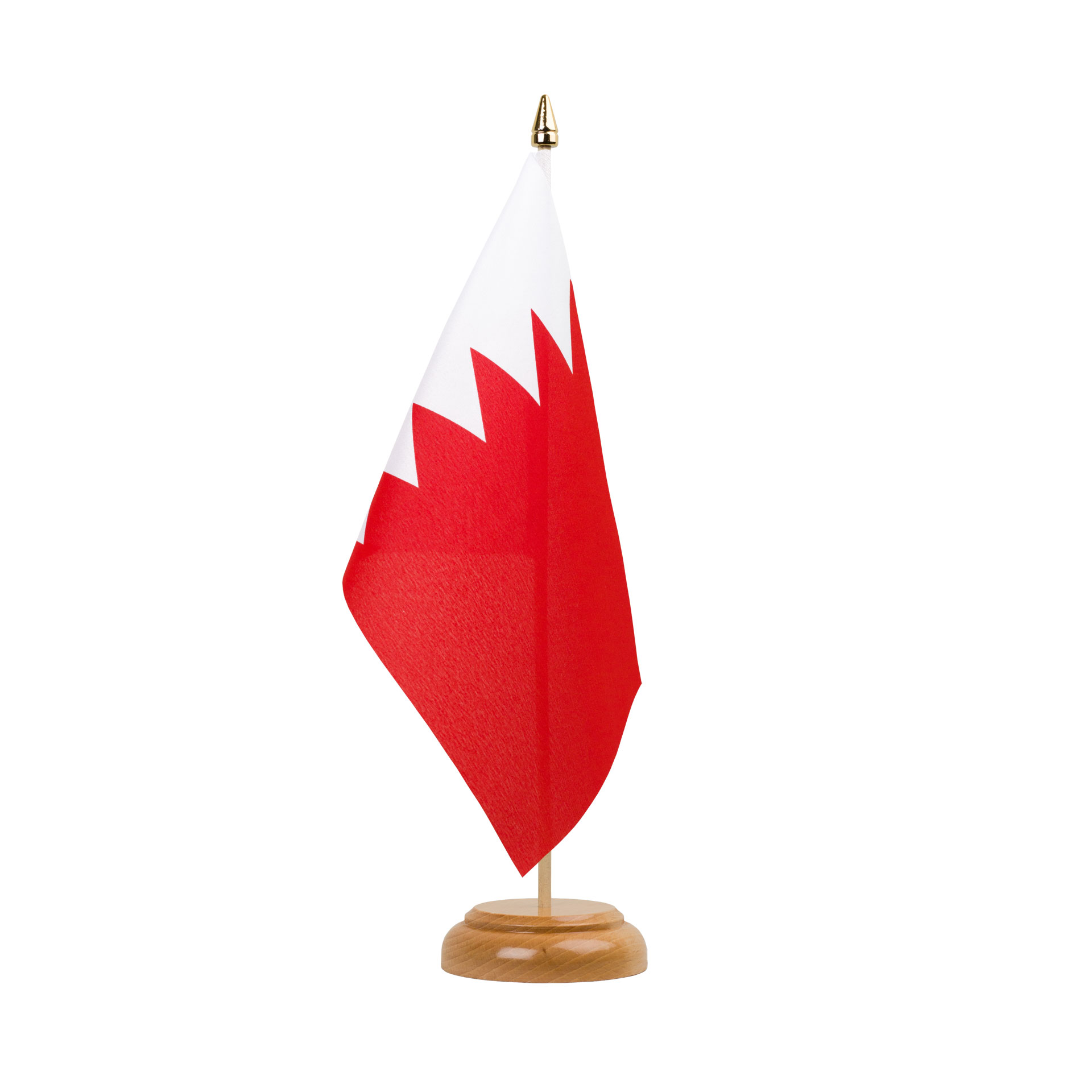 Table Flag Bahrain X Wooden RoyalFlags - Bahrain flags
