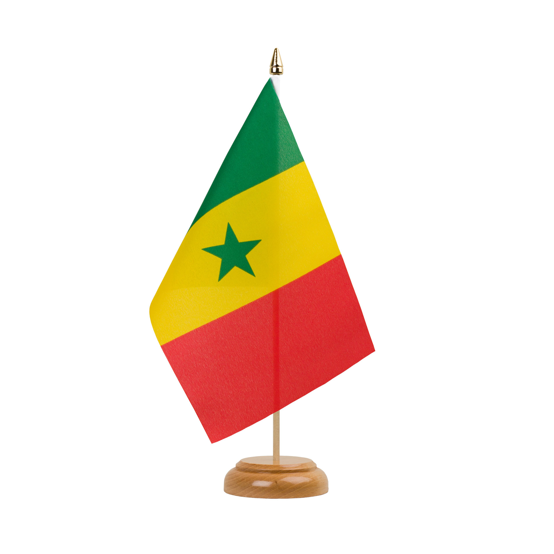 table flag senegal 6x9 wooden royal flags